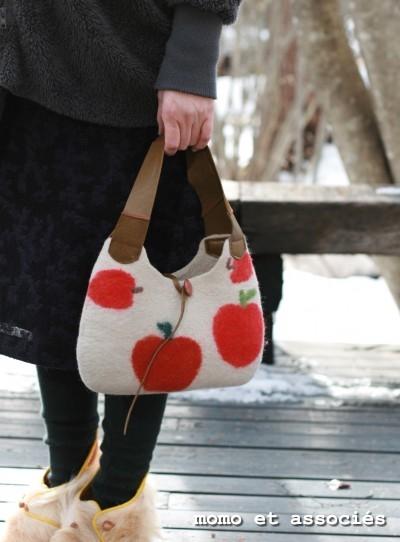 林檎Bag(赤林檎)