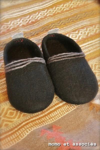 slip-on 黒